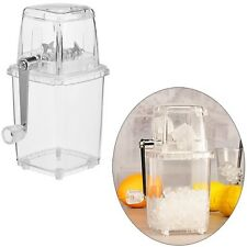 Eis-Crusher Eiscrusher Ice Zerkleinerer mit praktischer Handkurbel 14x11x23 cm