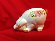 Hand Decorated PIGGY BANK A Catskill Mtn Souvenir