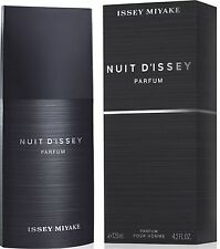 Issey Miyake NUIT D'ISSEY POUR HOMME 125ml Parfum Pour Homme EDP NEW CELLO SEALE