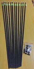 Carbon Tech Rhino Arrows. One dozen arrows. 35/60 spine (#CT1240)