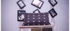 Cushion Cover Black White Geometric Cross Almohada Throw Pillows Case Creative