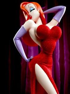 V2310 Jessica Rabbit Hot Red Dress Cartoon Art Decor WALL PRINT POSTER UK