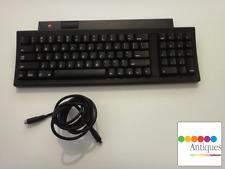 Apple Keyboard II Black with ADB Cable Vintage Rare for Macintosh TV M0487 RARE