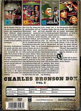 DOPPEL-DVD NEU/OVP - Charles Bronson Box - Vol. 2 - 4 Spielfilme