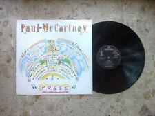 """PAUL MC CARTNEY - PRESS - 12"""" 1986 UK ORIGINAL press 4 songs EX+/EX+ ex beatles"""