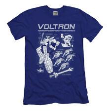 Voltron T-shirt Mens Xl Tv series Anime Beast King GoLion Navy Blue Lion Robot