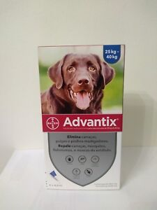 ADVANTIX¹chien puce tique leishmaniose flea tick treatment  25-40 kg boite 4 pp