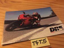 Ducati Dre Reit- Erfahrung 2007 Prospekt Werbung Prospekt Broschüre Werbung