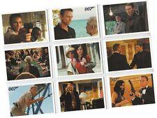 """Complete James Bond: 9 Card """"Casino Royale Dangerous Liaisons"""" Chase Set DL1-9"""