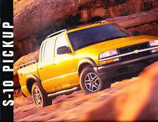 2003 Chevrolet S-10 Truck 16-page Sales Brochure Catalog ZR2 ZR5 XTreme Crew Cab