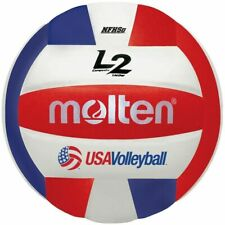 New listing Molten Premium Competition L2 Volleyball - NFHS Approved Red White Blue