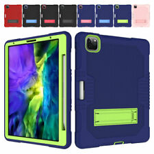 """Dual Layer Protective Stand Case Cover For iPad Air 4th Gen 10.9"""" / Pro 11"""" inch"""