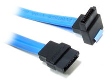 Serial ATA to Right Angled SATA 7-Pin Connector Data Cable Blue Daten-Kabel 55cm
