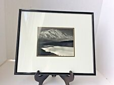 Ansel Adams - Mount McKinley/ Wonder Lake  Framed Double Matted