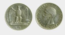 050) Regno Vittorio Emanuele III (1900-1943) 5 Lire 1928 Aquilino *