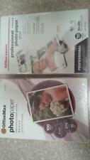 Office Depot & Max Professional Photo Paper Gloss 4x6  2 pack of 100 sheets each