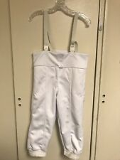 Fencing Pants (Us Size 32) White Knickers.