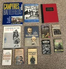 Lot of 12 Books About The Civil War (Paperback & Hardcover)