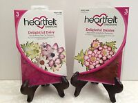 Lot Set Heartfelt Creations Dies+Stamp Set Delightful Daisy, HCD1-760+HCPC3656