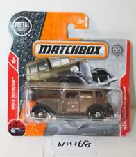 Mattel Matchbox 5/30 MBX Rescue 33 Plymouth PC Sedan FNQHobbys NH168