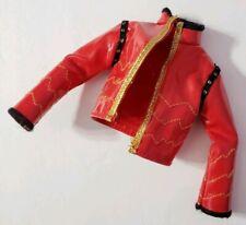 MONSTER HIGH DOLL CLOTHES ORIGINAL 1ST WAVE 1 HOLT HYDE RED & GOLD JACKET COAT