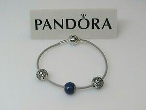 New Pandora Gray ESSENCE Cord Bracelet ONLY 596001CGY PANDORA ESSENCE LINE
