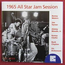 BENNY WATERS JOE TURNER KENNY CLARKE   CD 1965 ALL STAR JAM SESSION
