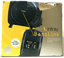 Infinity Bass Enlace Servo controlado 200W Powered Subwoofer ITF-14 10""