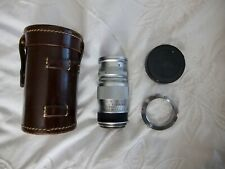 Leica Elmar M 90mm f4 Lens in excellent condition with case