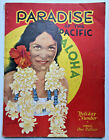 1935 Paradise Of The Pacific Magazine HAWAII PHOTOS/ADS/ART/HULA GIRLS/SURFING
