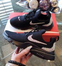 Crystal Nike Presto fly in Black