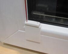 Stick & Fix Front - Klebeplatten für Plissees bei abgerundeten Glasleisten