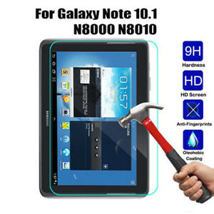 Thin Tempered Glass Screen Protector Cover For Samsung Galaxy Note 10.1 N8000
