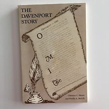 DAVENPORT Florida FL Story City History Book 1986 Meyer McGill Families Photos