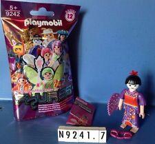 (N9242.7) playmobil  fille La geïsha N°7 série 12 ref 9242 neuf