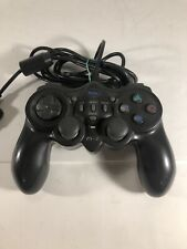Ps1 Ps2 Controller Naki Ps-2 Black Playstation Remote Tested See Description