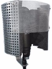 Microphone Windscreen Shield Isolation Reflection Pop Filter Screen Vocal Booth