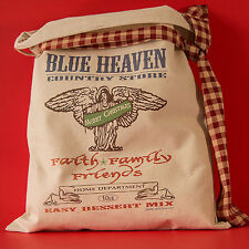 FAITH FAMILY FRIENDS AMERICANA COUNTRY STORE DECO Feedsack  FlourSack Vintage