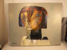 "Original Victor Tkachenko Acrylic Painting "" Choir Boy """