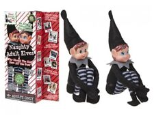 Pms 12 2pack Adult Vinyl Head Elf in Black Clothes 2