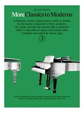 More Classics To Moderns 3 Learn to Play Present Gift MUSIC BOOK Piano