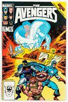 The Avengers #261 (1985 Marvel) Thor, Captain America, Secret Wars II NM-