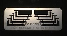 ETCHED EMD TRUCK SANDING HOSE BRACKETS HO SCALE KV MODELS