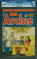 Archie Comics #28 CGC 6.0 MLJ 1947 Rare! Early Issue! Riverdale! K6 962 cm