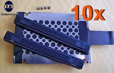 Lot 10 IBM Lenovo Hard Drive Caddy Rails T60 T61 T400 T410 T420 T500 T510 T520