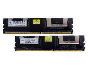 8GB (2x4GB) Memory For Dell Precision Workstation 490, 690, t5400, t7400 & R5400