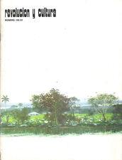 TOMAS SANCHEZ. Revista Revolucion y Cultura 1981. Art Cuban Painting.
