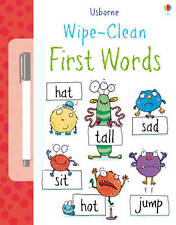 Usborne Wipe - Clean First Words