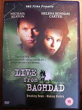 Michael Keaton Helena Bonham- Carter LIVE da BAGHDAD rara HBO Drammatico UK DVD