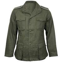 German Army DAK AFRICA TUNICA VERDE OLIVA - WW2 Riproduzione tutte le taglie